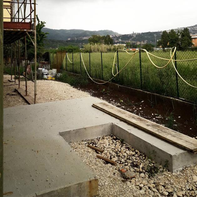 casa tivoli nooow architects roma architettura cantiere 1