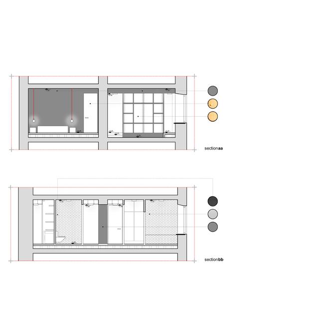 appartamento San Giovanni nooow architects tivoli roma architetti interior design