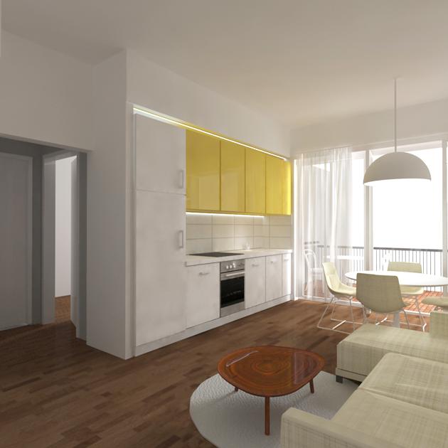 appartamento Monte Mario nooow architects tivoli roma architetti interior design